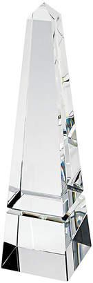 Badash Crystal Crystal Obelisk Art Glass Sculpture