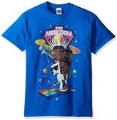 WWE Men's New Day on Unicorn T-Shirt, Royal
