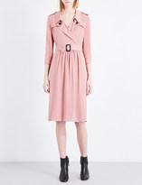 Burberry Agatha silk-crepe dress
