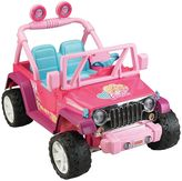 Fisher-Price Power Wheels Barbie Ride-On Jeep Wrangler by
