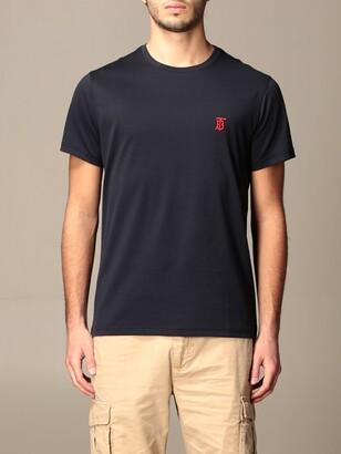 Burberry Parker T-shirt With Tb Monogram