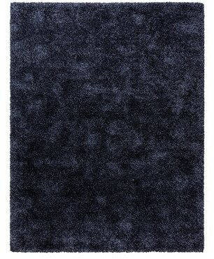 "Laura Ashley Power Loom Dark Blue Rug Rug Size: Rectangle 5'3"" x 7'5"""