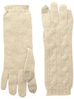 Polo Ralph Lauren Cashmere Classic Cable Gloves Extreme Cold Weather Gloves