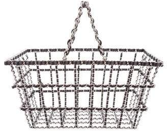 Chanel Large Grocery Shopping Basket w/ Tags