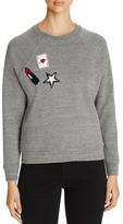 Rebecca Minkoff Multi Patch Sweatshirt - 100% Bloomingdale's Exclusive