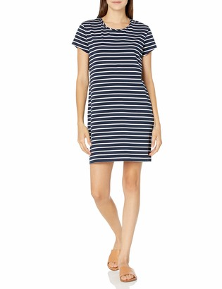 Seafolly Women's Vacay Cotton Short Tee Shirt Dress