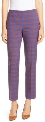 BOSS Tarera Structured Check Pants