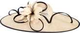San Diego Hat Company Women's Oversized Fascinator with Feather Tie DRS1016