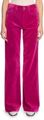 Marc Jacobs The The Velveteen Flared Jeans