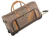 "Tommy Bahama Chesapeake Bay Collection 22"" Wheeled Duffel"