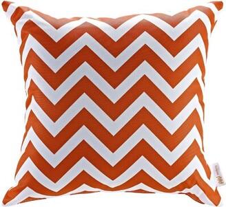 Modway Patio Chevron Indoor/Outdoor Throw Pillow