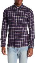 Knowledge Cotton Apparel Flannel Checked Button Down Shirt