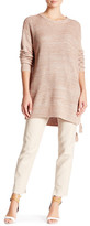 Rachel Zoe Sonia Silk Blend Lace-Up Side Sweater