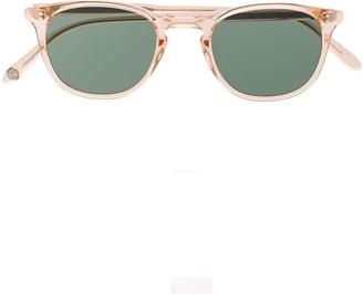 Garrett Leight Kinney square sunglasses