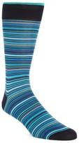 Bugatchi Men's Multi Stripe Socks