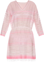 Lemlem Almaz V-neck striped dress