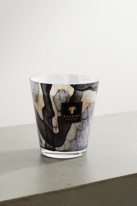 Baobab Collection Marble Max Scented Candle, 2.2kg - Black