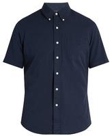 Polo Ralph Lauren Short-sleeved cotton-seersucker shirt