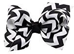 Hair Claw Clip,WuyiMC Infant Baby Girls Hair Bows Clips Hairpin Barrettes 9 Colors (Black)