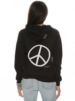 Peace Love World I am Peace Zip Hoodie