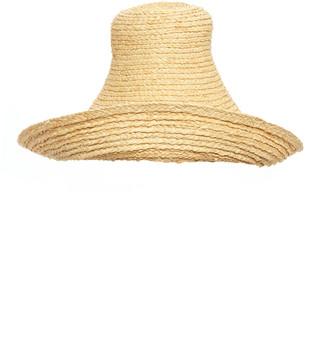 Jacquemus Le Chapeau Woven Raffia Hat