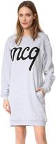 McQ Alexander McQueen Classic Sweatshirt Dress