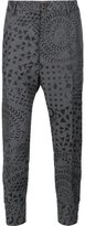 Vivienne Westwood Man - buckle cuff trousers - men - Cotton/Acrylic/Polyester/Wool - 48
