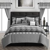 Chic Home Safforn 20-pc. Comforter, Window Treatment & Sheet Set