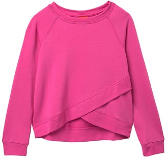 Joe Fresh Act Front Wrap Pullover (Big Girls)
