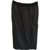 Isabel Marant Leather mid-length skirt