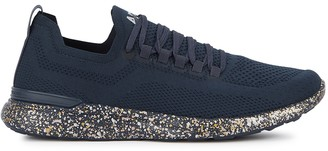 Athletic Propulsion Labs Techloom Breeze navy stretch-knit sneakers