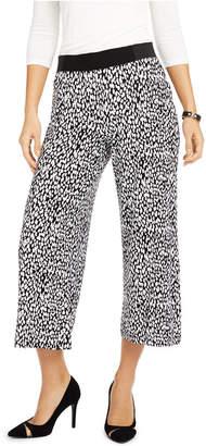 INC International Concepts Inc Petite Animal-Print Culotte Pants