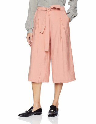 BCBGeneration Women's SELF Belted Culotte Pant