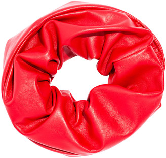 L. Erickson Large Leather Scrunchie