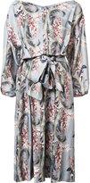 Zimmermann floral print flared dress - women - Silk/Viscose - 3