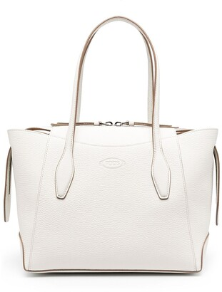 Tod's Small Embossed Logo Tote Bag