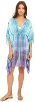 Bleu Rod Beattie Desert Heat Caftan Cover-Up