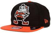 New Era Cleveland Browns Classic XL Logo 9FIFTY Snapback Cap