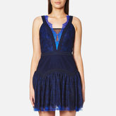 Three floor Women's Wild Waves Dress Blue