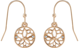 Accessorize Lotus Short Drop Earrings