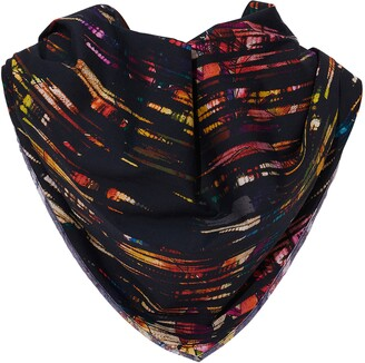 Robert Graham Kuna Abstract Stripe Bandana