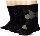 Dockers 5 Pack Classics Dress Argyle Crew Socks