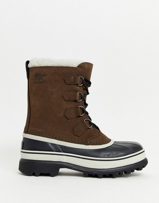 Sorel Caribou snow boot in brown