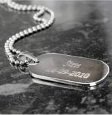 Very Personalised Stainless Steel Dog Tag Pendant