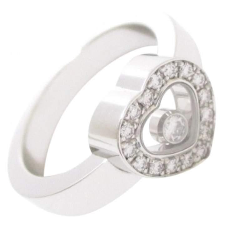 Chopard Happy Diamonds Silver White gold Ring