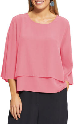 Masai Brynhild 3/4-Sleeve Layered Top