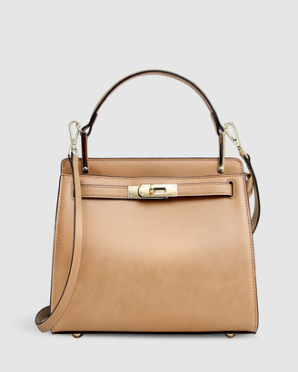 Belle & Bloom Simply Perfect Leather Cross-Body Bag