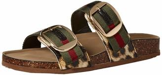 Madden-Girl Women's BAMBAMM Slide Sandal