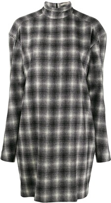 Nina Ricci checked mini dress