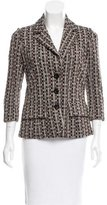 Diane von Furstenberg Patterned Notch-Lapel Blazer